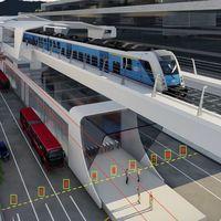 El metro de Bogotá movilizará a 1.800 pasajeros y sus trenes serán eléctricos