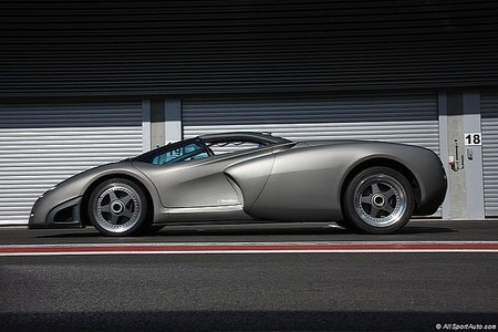 Lamborghini Pregunta, vista lateral
