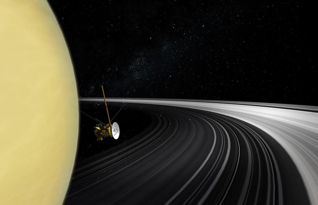 Se ha podido estimar la masa de los anillos de Saturno con una precisión de récord: Cassini aún sigue aportando tras su muerte