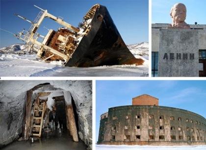Maravillas abandonadas de la Unión Soviética