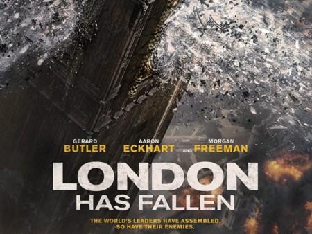 'London Has Fallen', primeros carteles
