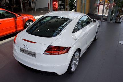 Audi TT S-Line en blanco, un placer para los sentidos