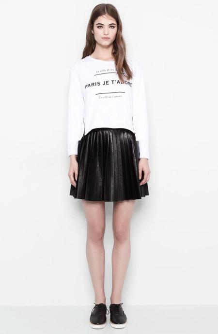 PullBear faldas primavera moda 2014