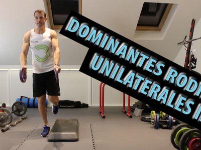 Cinco ejercicios de cuádriceps a una pierna (avanzados y poco conocidos)