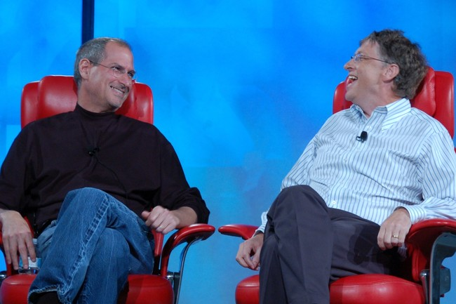 Bill Gates Steve Jobs