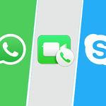WhatsApp vs Facetime vs Skype vs Google Duo: ¿cuál es la mejor app para videollamadas?