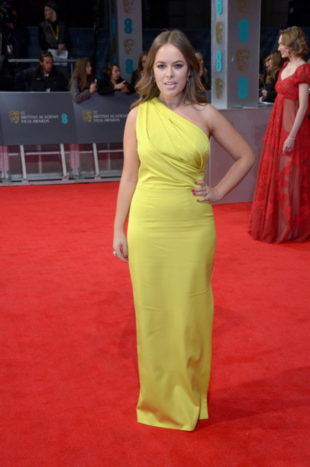Tanya Burr BAFTA 2014