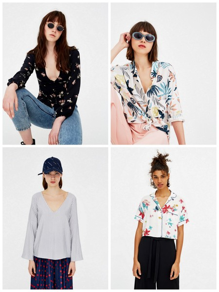 Camisas Bluasa Pull And Bear Rebajas