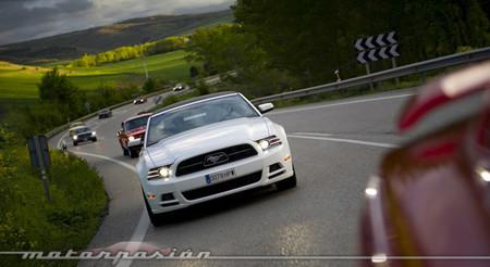 Cabalgada de Mustangs 2014, desde dentro