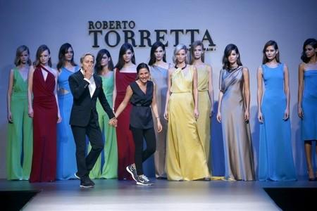 Roberto Torretta abre la Semana de la Moda de Madrid rodeado de amigos y admiradores