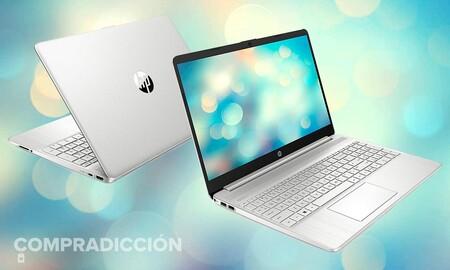 Este portátil con procesador i3 sale mucho más barato esta semana en Amazon: HP 15s-fq2040ns por 369,99 euros con rebaja de 80 euros