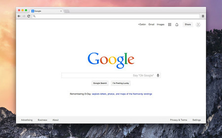 Google Chrome en macOS