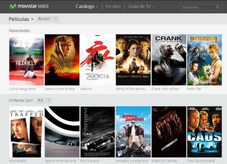 Movistar Video, el nuevo servicio online de películas y series