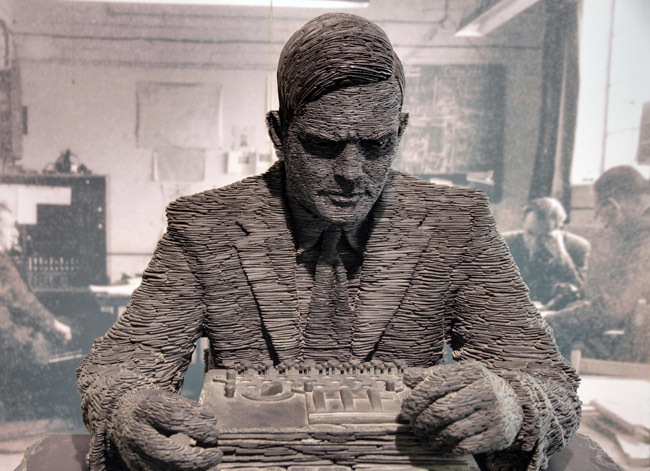Alan Turing estatua