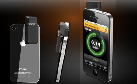 DO-RA, un accesorio que afirma medir la radiactividad