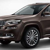 El Grand Commander es el nuevo Jeep para 7 pasajeros, pero sólo estará disponible en China