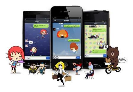 LINE, la competencia de WhatsApp ya está aquí