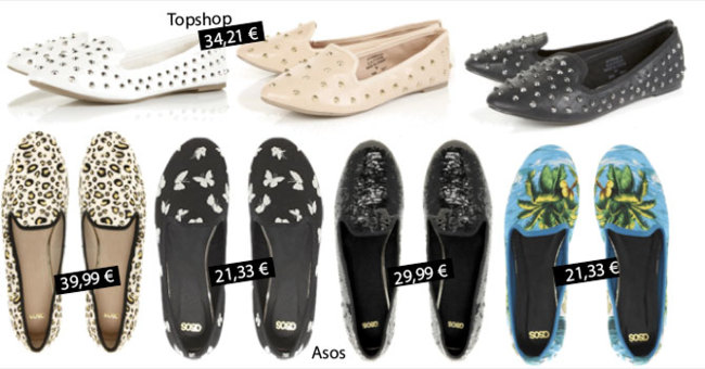 Slippers asos topshop