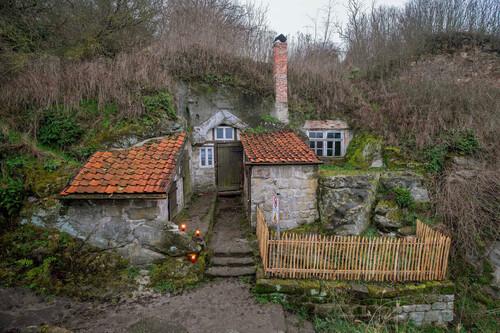 Cómo los agricultores alemanes del siglo XIX convirtieron las cuevas en hogares