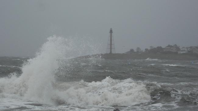 huracán sandy tormenta ola