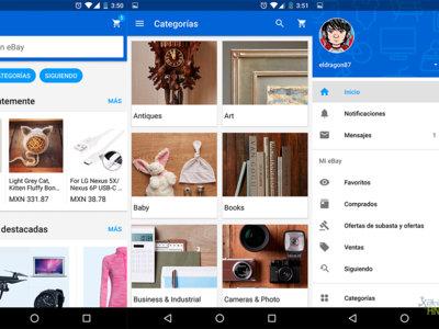 eBay para Android se actualiza con Material Design