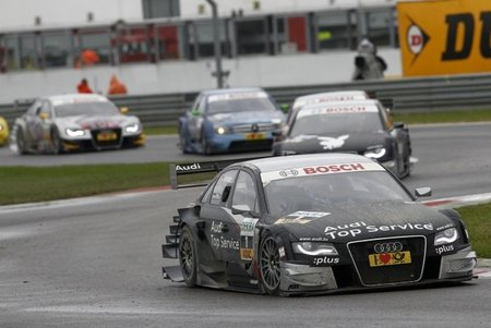 Timo Scheider ganó en Adria y Bruno Spengler se pone líder del DTM
