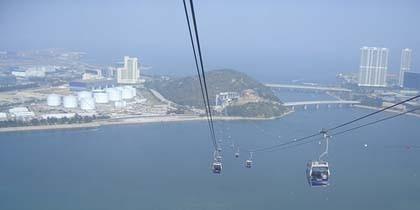 Ngong Ping Skyrail: telecabina de 5,7 km sobre Hong Kong