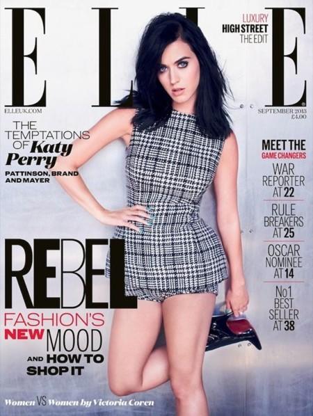 Tenemos la primera portada de septiembre, la de Katy Perry para el Elle británico