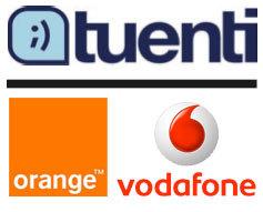 Tuenti, en los portales de Vodafone y Orange
