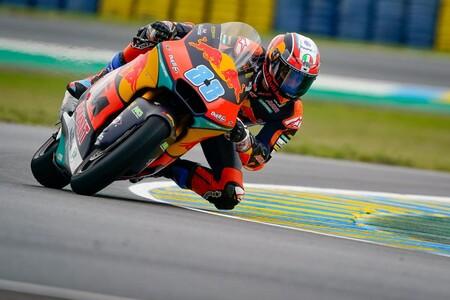 Jorge Martín se impone en Le Mans mientras que Luca Marini acaba en el hospital con un tobillo lesionado