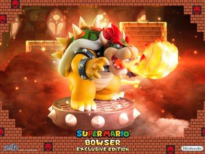 Así es la figura más impresionante de Bowser que se ha llegado a crear