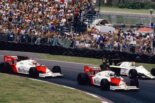 Cuando el karma le hizo perder a Alain Prost un mundial de Fórmula 1 por solo medio punto contra Niki Lauda