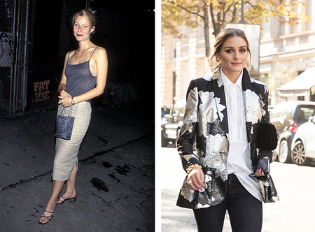 Gwyneth Paltrow Vs Olivia Palermo It Girls 90s Versus It Girls 2018
