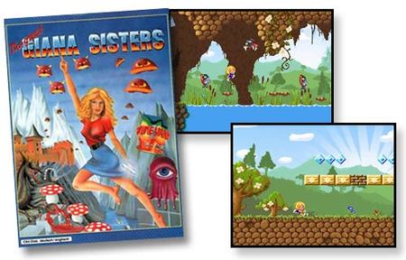 'Great Giana Sisters' llegará a Nintendo DS
