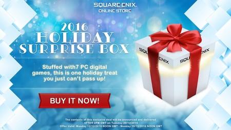 Square Enix anuncia su tradicional bundle sorpresa: 7 juegos misteriosos por poco más de 6 euros