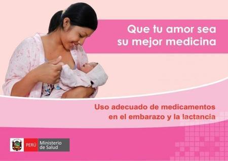 """""""Que tu amor sea su mejor medicina"""": campaña contra la automedicación en el embarazo y lactancia"""