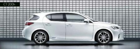 Lexus CT 200h, un rival híbrido para el Audi A3 y BMW Serie 1