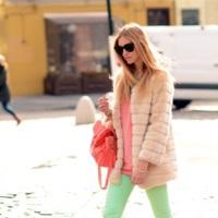 Un streetstyle de lo más dulce: los colores pastel ya se divisan en las calles