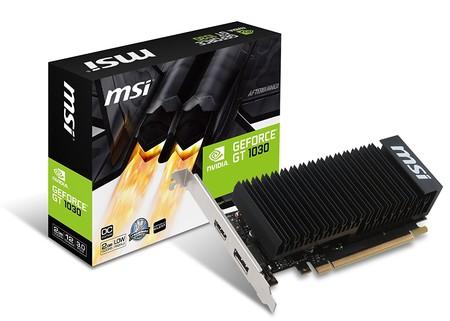 MSI GT 1030 de Nvidia