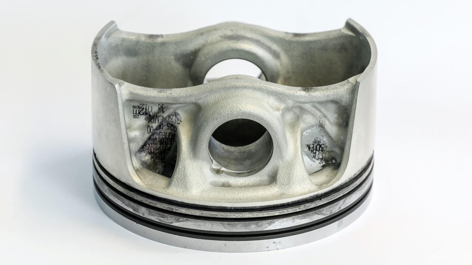 Pistones impresión digital Porsche