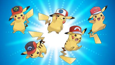 Guía Pokémon Ultrasol y Ultraluna: cómo conseguir a los diferentes Pikachu con la gorra de Ash