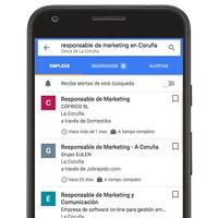 Así es el buscador de ofertas de empleo que integra Google en tu móvil Android