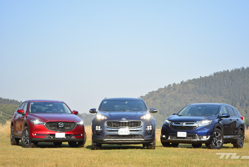 Comparativa: Honda CR-V vs. KIA Sportage vs. Mazda CX-5 (III)