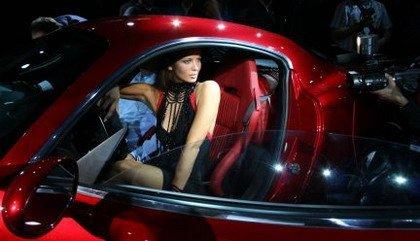 Glamour en el Salón de París: Alfa 8C Competizione