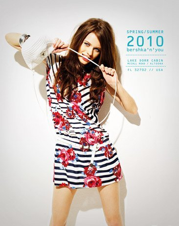 Bershka viste a la mujer joven este verano 2010: lookbook completo con todos los estilos III