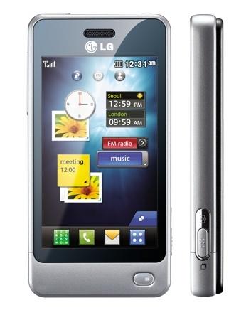 LG Pop, un teléfono compacto con pantalla táctil