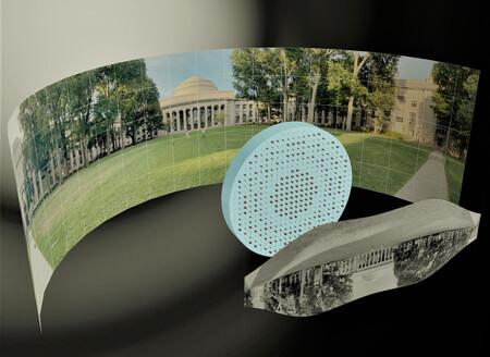 Ingenieros del MIT crean una lente ojo de pez totalmente plana y diminuta que se podría usar en dispositivos como los smartphones
