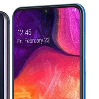 Samsung Galaxy A50: la nueva gama media llega con notch, cámara triple y lector de huellas en la pantalla