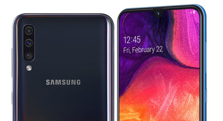 c1b870e25b7be Samsung Galaxy A50  la nueva gama media llega con notch