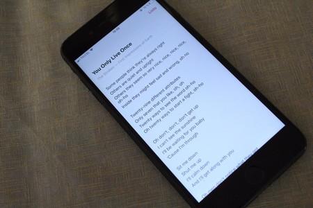 Apple Music ya muestra las letras de las canciones en México